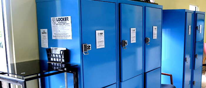 24 Hour Locker Zone Express
